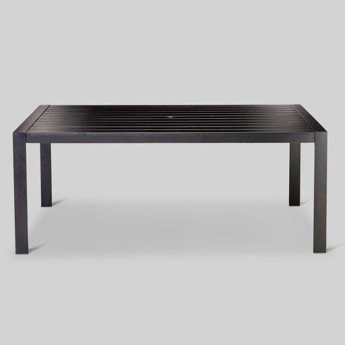 Standish Slat Top Rectangle Patio Dining Table - Project 62™ - image 1 of 4