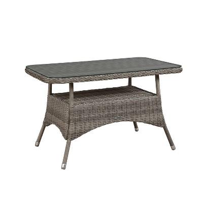 Monaco Cocktail Table - Gray - Alaterre Furniture