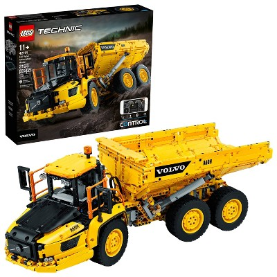 LEGO Technic 6x6 Volvo Articulated Hauler Building Kit for Kids Who Love Construction Toys 42114