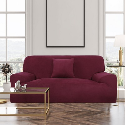 1 Pc Polyester Stretch Sofa Slipcovers - PiccoCasa