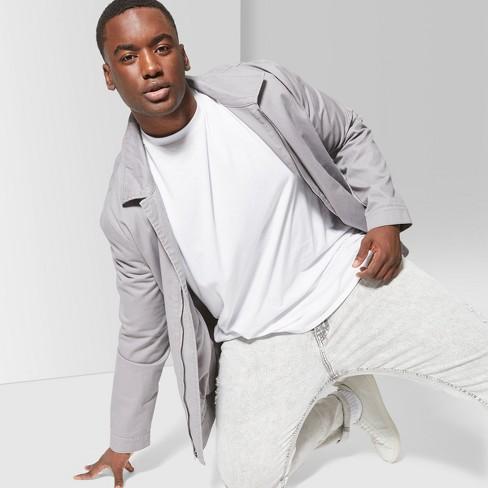 Men's Big & Tall Short Sleeve Curve Hem Crew T-Shirt - Original Use™ White 3XBT - image 1 of 3