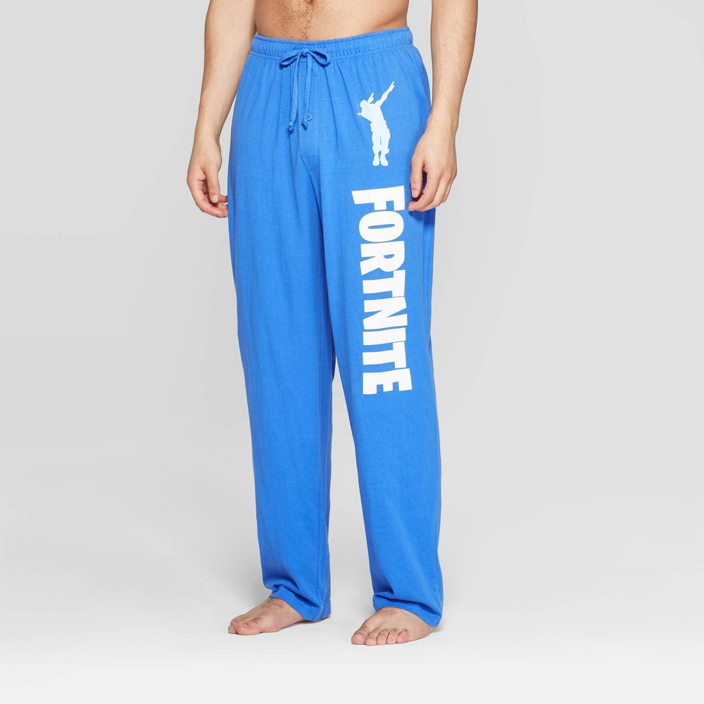 Men's Fortnite Pajama Pants - Blue L