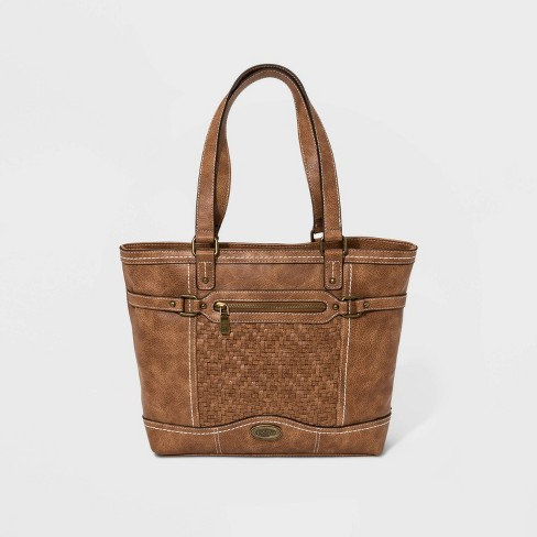 Bolo Cedarton Tote Handbag - Brown - image 1 of 5
