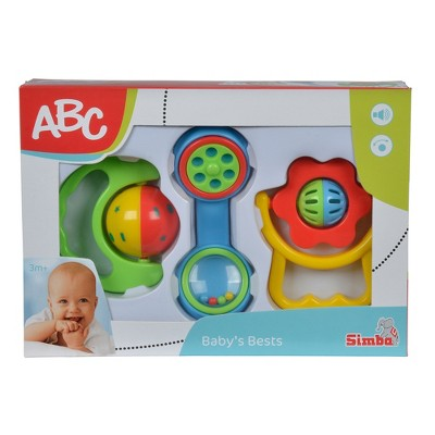 Simba ABC - Baby Rattle Set, 3pc