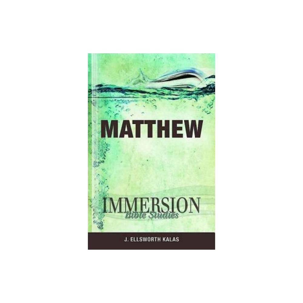 Immersion Bible Studies Matthew Paperback