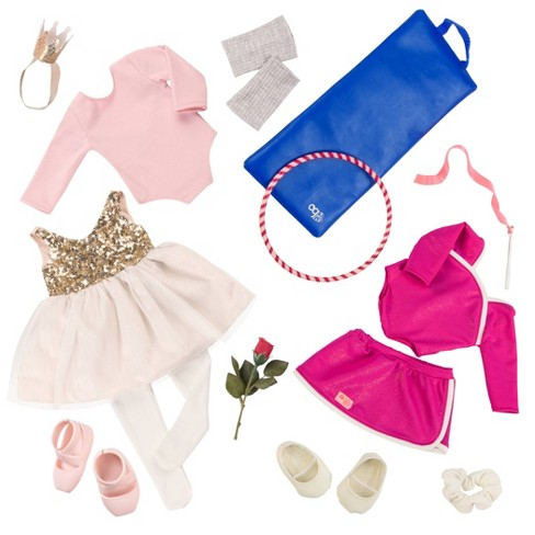 """Our Generation 2pk Deluxe Outfits for 18"""" Dolls - Jump & Twirl - image 1 of 4"""