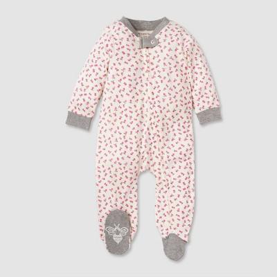 Burt's Bees Baby® Baby Girls' Organic Cotton Radishes Sleep N' Play - Pink 3-6 M