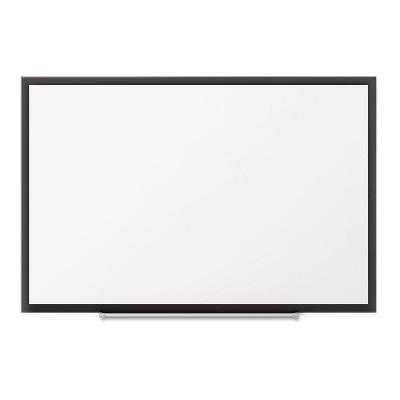 Quartet Classic Series Magnetic Whiteboard 60 x 36 Black Aluminum Frame SM535B