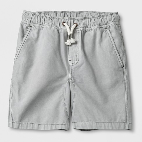 Boys' Pull-On Shorts - Cat & Jack™ Gray - image 1 of 2