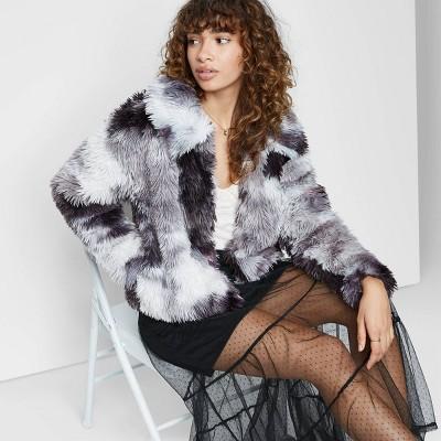 Women's Faux Fur Jacket - Wild Fable™