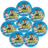 "PAW Patrol 8ct 9"" Paper Plates Blue - image 2 of 3"