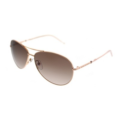 Marc Jacobs  WM4 JD Unisex Aviator Sunglasses Gold Copper 53mm