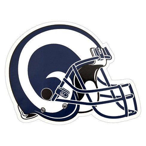 NFL Los Angeles Rams Small Outdoor Helmet Decal - image 1 of 1