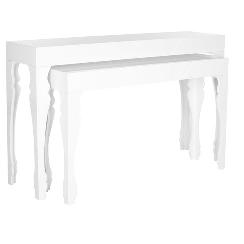 Beth Console Table - White - Safavieh - image 1 of 4