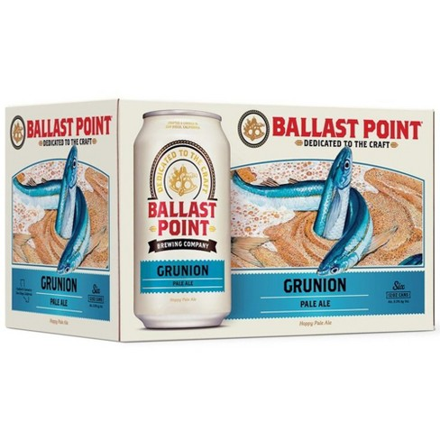 Ballast Point Grunion Pale Ale Beer - 6pk/12 fl oz Cans - image 1 of 3