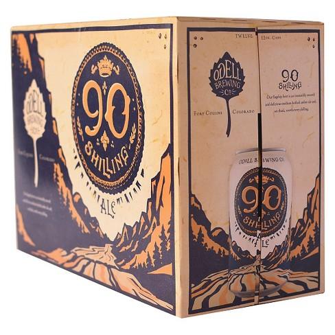 Odell 90 Shilling Ale Beer - 12pk/12 fl oz Cans - image 1 of 1