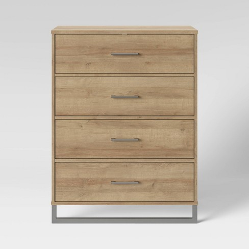 Mixed Material 4 Drawer Dresser - Room Essentials™ - image 1 of 2