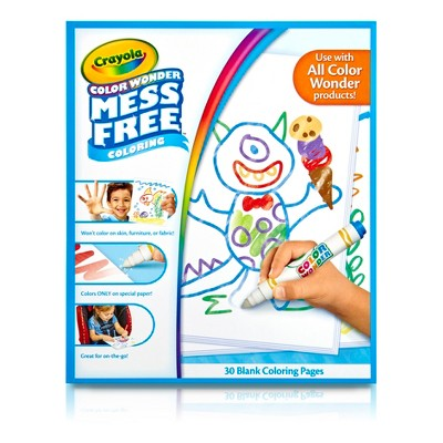 - Crayola Color Wonder Refill Book - Blank : Target