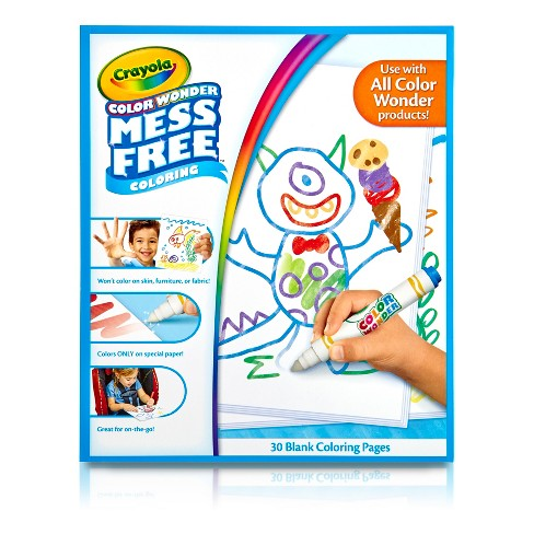 Crayola® Color Wonder Refill Book - Blank