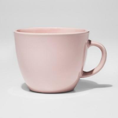 Stoneware Coffee Mug 16oz Charming Pink - Room Essentials™