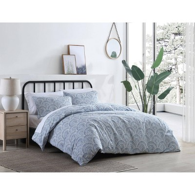 Half Moon Duvet Cover Set - Azalea Skye