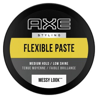 AXE Styling Messy Look Medium Hold Low Shine Flexible Hair Paste - 2.64oz : Target