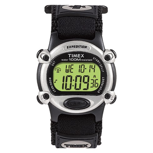 Men's Timex Expedition® Digital Watch with Fast Wrap® Nylon Strap - Black T48061JT - image 1 of 1