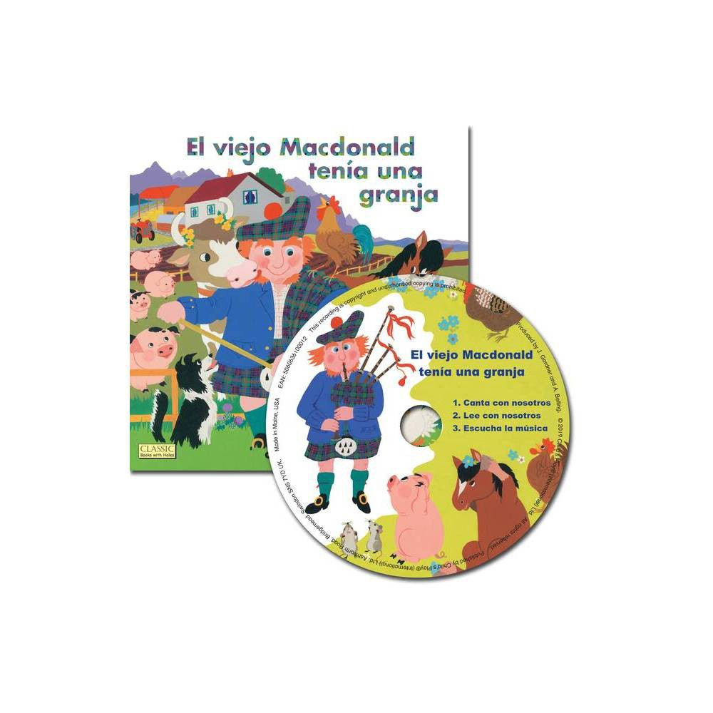 El Viejo Macdonald Classic Books With Holes 8x8 With Cd Mixed Media Product