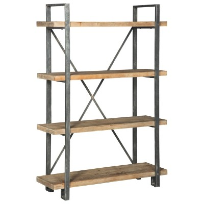 Forestmin Bookcase Brown/Black - Signature Design by Ashley