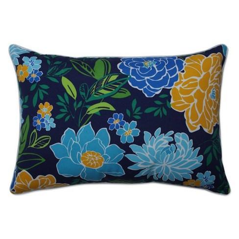 2pc Outdoor Indoor Oversized Rectangular Throw Set Pillow Spring Bling Blue Sea Island Stripe Pillow Perfect Target