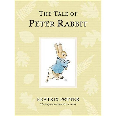 The Tale of Peter Rabbit - (Peter Rabbit Naturally Better)by Beatrix Potter (Hardcover)