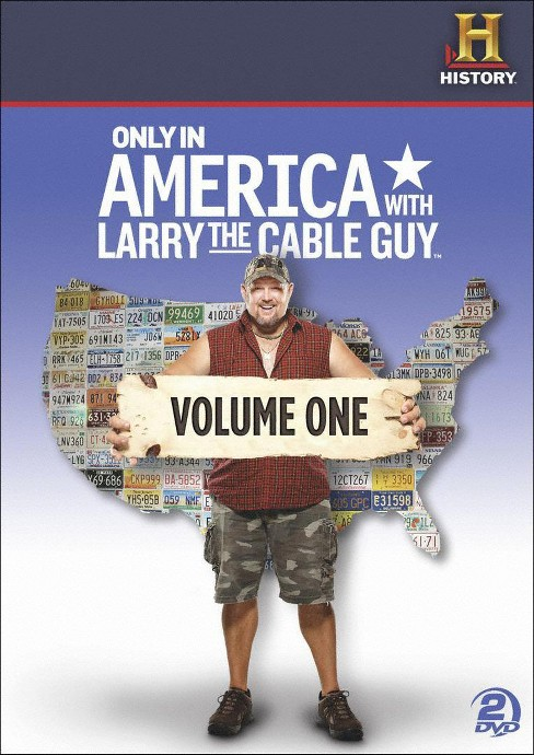 Only in america with larry v1 (DVD) - image 1 of 1