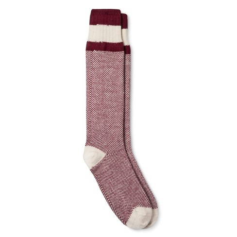 027f0c291 Women s Knee High Socks - Burgundy 6-10. Shop all Wigwam