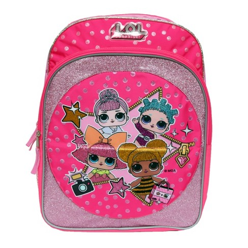 "L.O.L. Surprise! 16"" Just Flip Kids' Backpack - Pink - image 1 of 4"