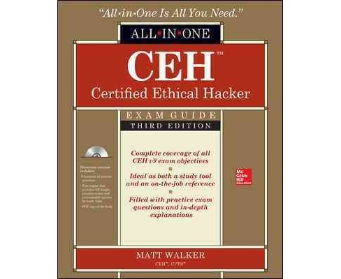 CEH Certified Ethical Hacker All-in-One Exam Guide (Paperback) (Matt Walker) - image 1 of 1