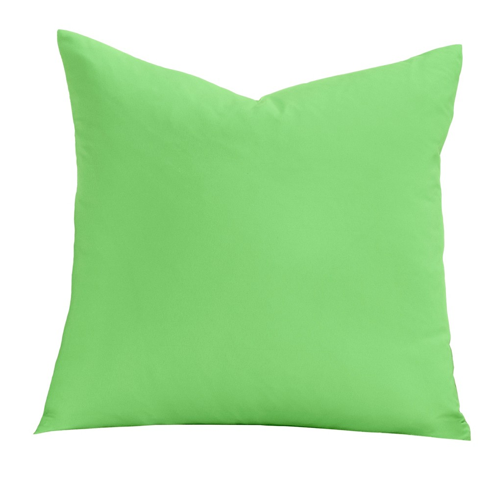 Image of Green 26 Throw Pillow - Learning Linens