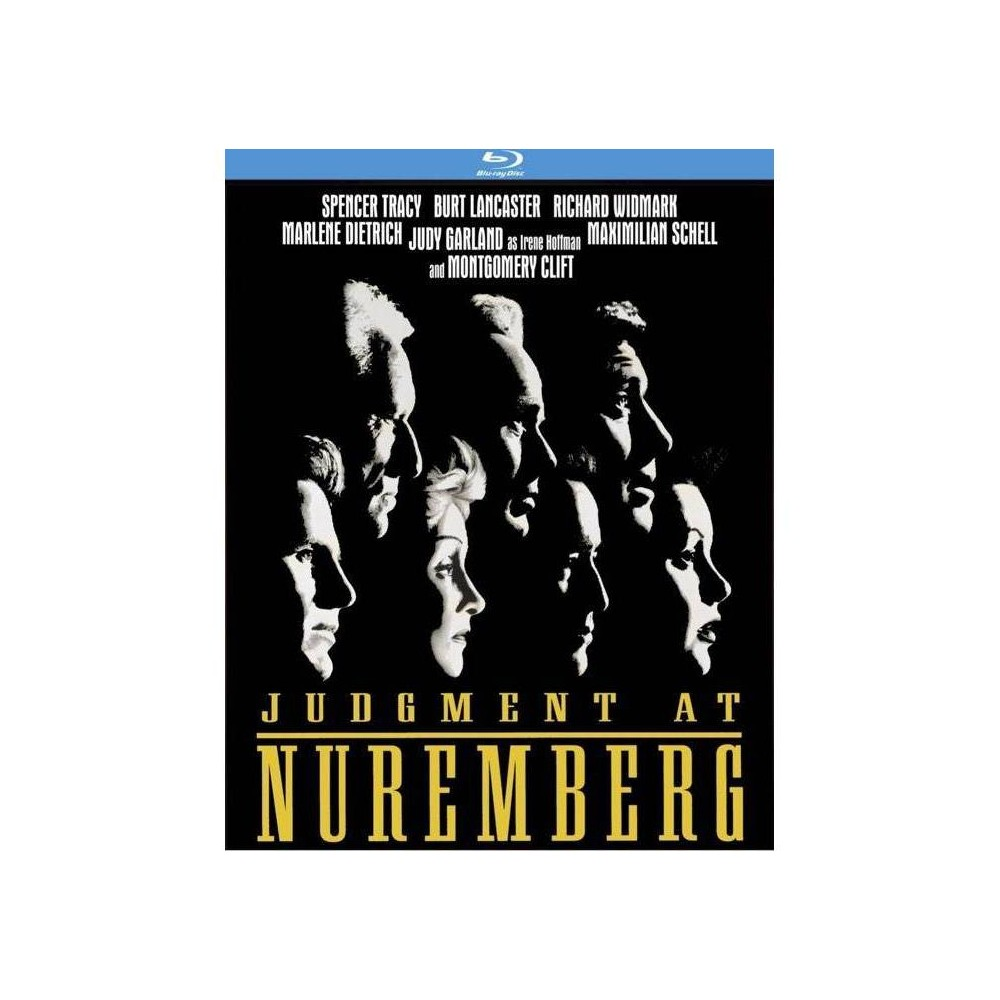 Judgment At Nuremberg Blu Ray