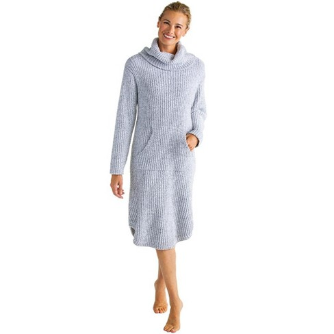 Softies Women's Marshmallow Slouch Turtleneck Lounger - image 1 of 4
