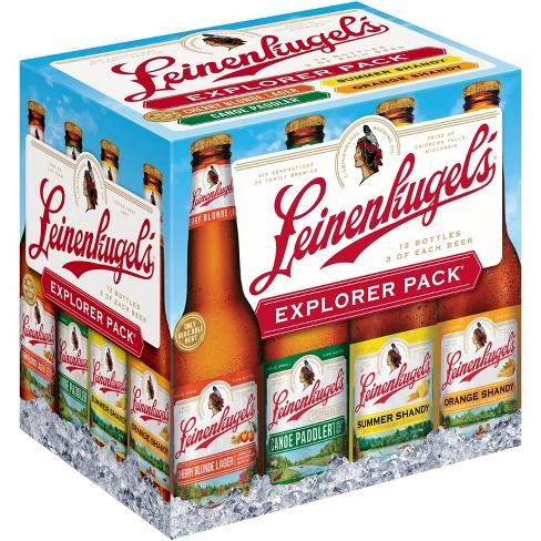 Leinenkugel's® Explorer Variety Pack - 12pk / 12oz Bottles - image 1 of 3