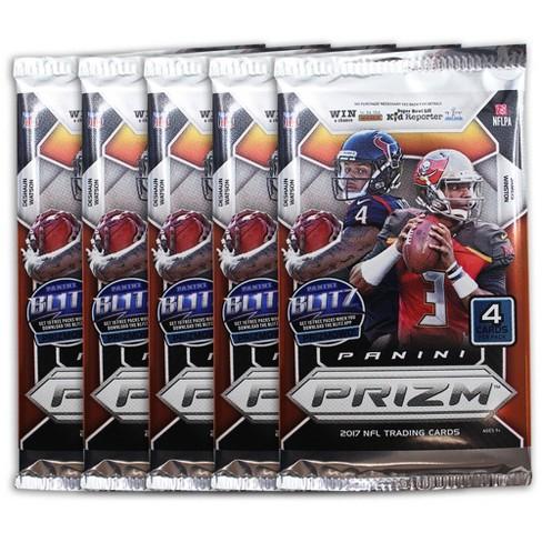 NFL Panini Prizm Football Trading Cards Full Box   Target 0fdf471a0