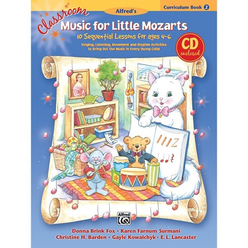 Alfred Classroom Music for Little Mozarts Curriculum Book 2 & CD - image 1 of 1