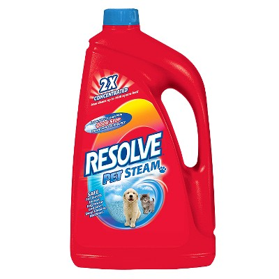 Resolve Pet Steam 2X Concentrated Large Area Carpet Cleaning Liquid 60-oz.