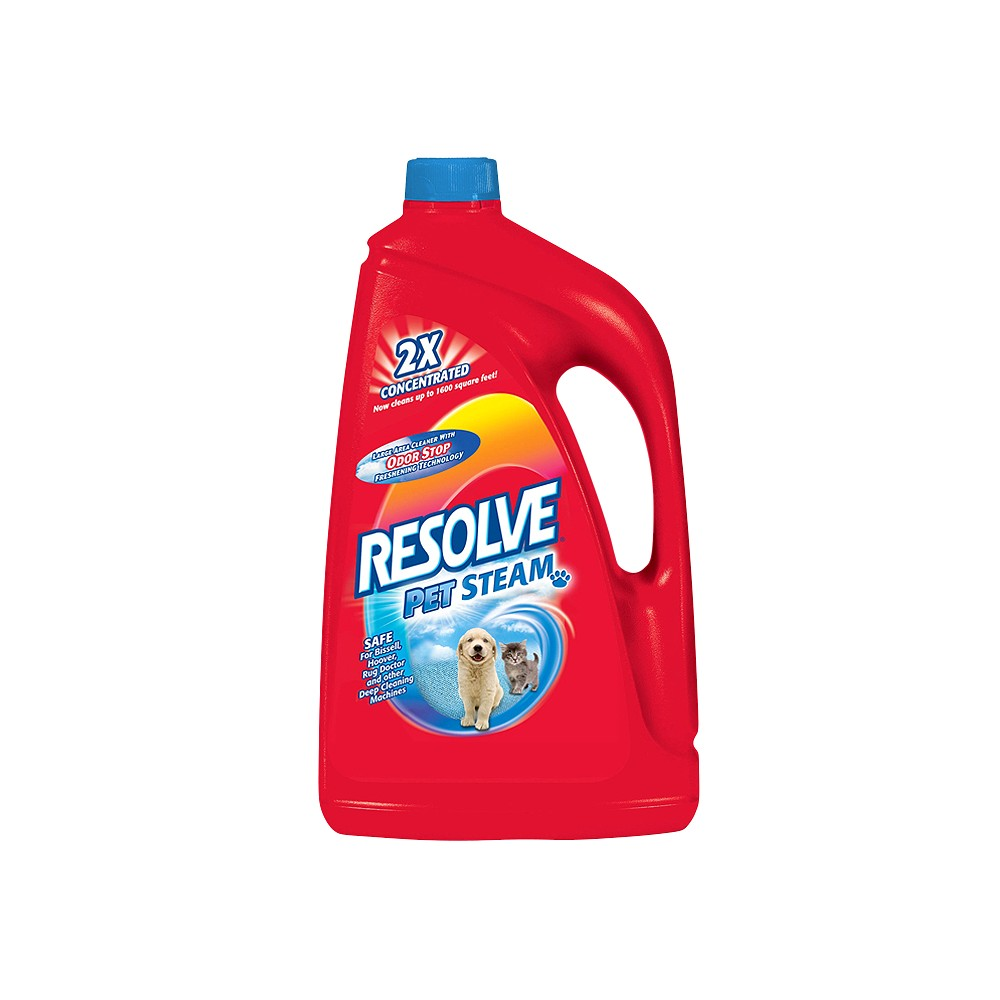 Image of Resolve Pet Steam 2X Concentrated Large Area Carpet Cleaning Liquid 60-oz.