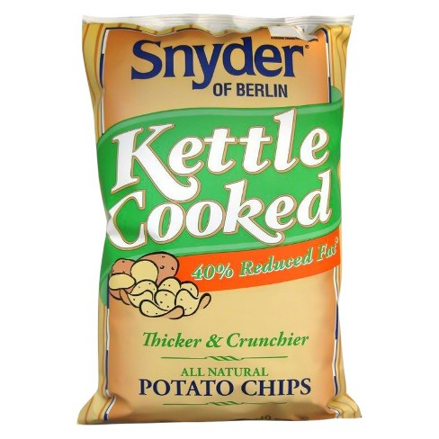 Snyder of Berlin Reduced Fat Kettle Chips 8.5 oz - image 1 of 1