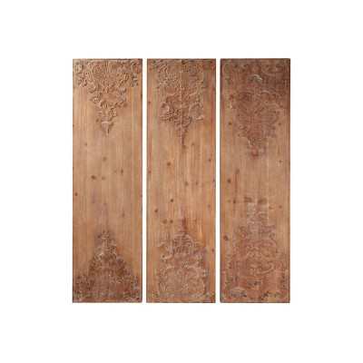 Details about  /Carved wood wall decor,15 inch x 10 inch