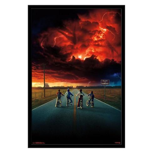 Stranger Things 2 - Key Art Framed Poster Trends International - image 1 of 3