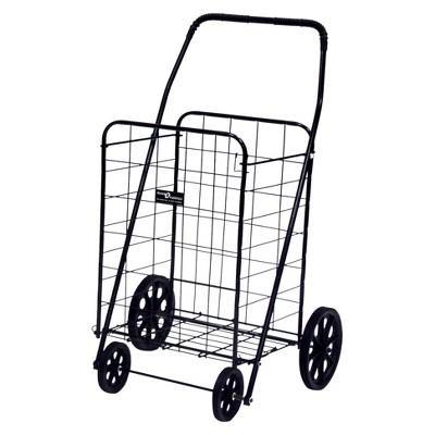 Narita Jumbo-A Shopping Cart, Black
