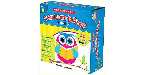 I Can Learn to Read! Collection, Level B, Grades Prek-k (Paperback) - image 1 of 1