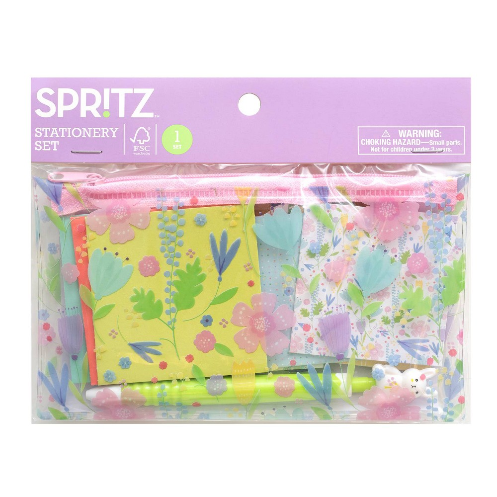 Scented Bunny Stationery - Spritz, Multi-Colored