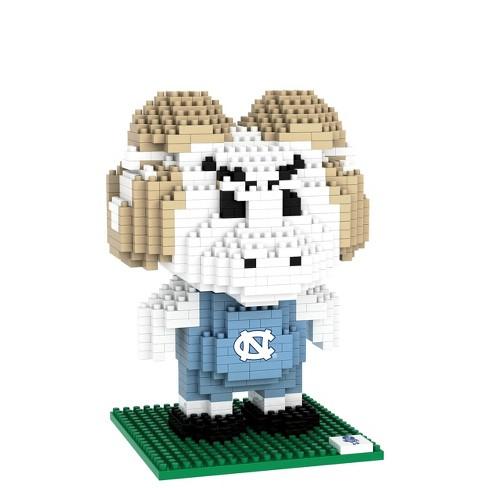 NCAA North Carolina Tar Heels 3D BRXLZ Mascot Puzzle 1000pc - image 1 of 1